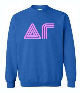 70's Greek Crewneck Sweatshirt