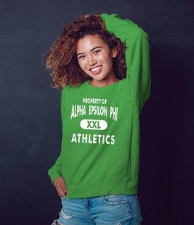 Alpha Epsilon Phi Athletics Crewneck Sweatshirt