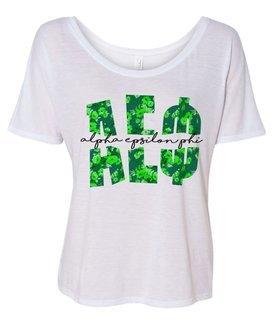 Alpha Epsilon Phi Slouchy T-Shirt