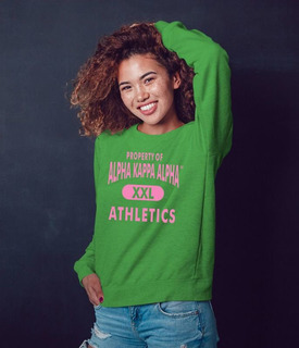 Alpha Kappa Alpha Athletics Sweatshirts