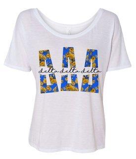 Delta Delta Delta Slouchy T-Shirt
