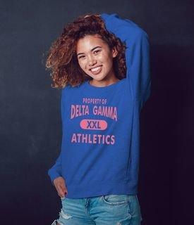 Delta Gamma Athletics Crewneck Sweatshirt