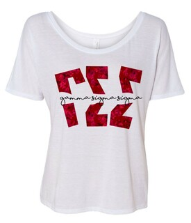 Gamma Sigma Sigma Slouchy T-Shirt