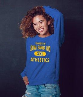 I Love Sigma Gamma Rho Crewneck Sweatshirt