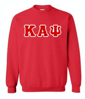 Kappa Alpha Psi Lettered Crewneck Sweatshirt