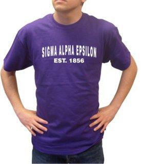 Sigma Alpha Epsilon Since Shirts
