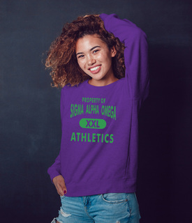 Sigma Alpha Omega Athletics Crewneck Sweatshirt