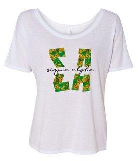 Sigma Alpha Slouchy T-Shirt