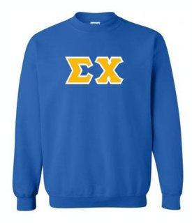 Sigma Chi Lettered Crewneck Sweatshirt