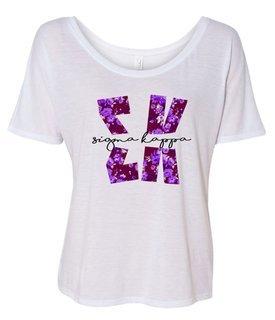 Sigma Kappa Slouchy T-Shirt