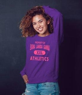 Sigma Lambda Gamma Athletics Crewneck Sweatshirt