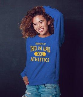 Theta Phi Alpha Athletics Crewneck Sweatshirt