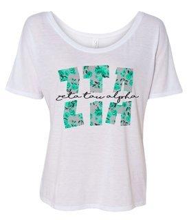 Zeta Tau Alpha Slouchy T-Shirt
