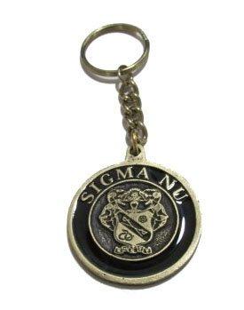 Sigma Nu Metal Fraternity Key Chain