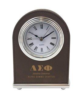 Delta Sigma Phi Arch Desk Clock