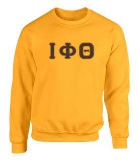 Iota Phi Theta 2 Day Ship Twill Crewneck Sweatshirt