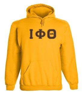 Iota Phi Theta 2 Day Ship Twill Hooded Sweatshirt