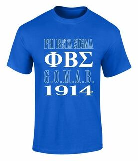 Phi Beta Sigma 2 Day Ship G.O.M.A.B. Short Sleeve Tee