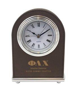 Phi Lambda Chi Arch Desk Clock