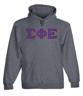 Sigma Phi Epsilon - 2 Day Ship Twill Hooded Sweatshirt
