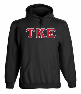 Tau Kappa Epsilon - 2 Day Ship Twill Hooded Sweatshirt