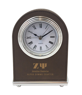 Zeta Psi Arch Desk Clock