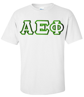 $19.99 Alpha Epsilon Phi Custom Twill Tee