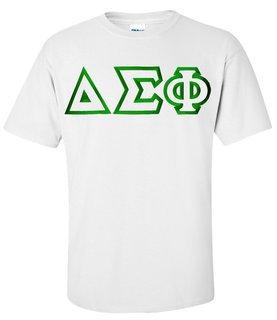 $15 Delta Sigma Phi Custom Twill Short Sleeve T-Shirt