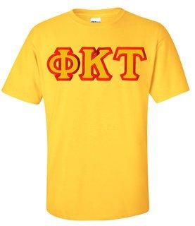 $15 Phi Kappa Tau Custom Twill Short Sleeve T-Shirt