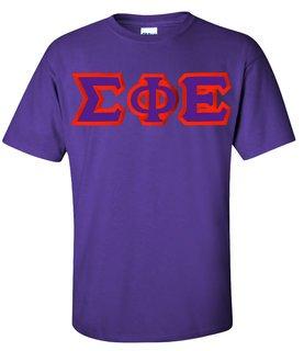Sigma Phi Epsilon Custom Twill Short Sleeve T-Shirt