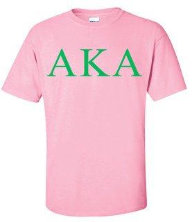 Alpha Kappa Alpha Lettered Tee - $9.95
