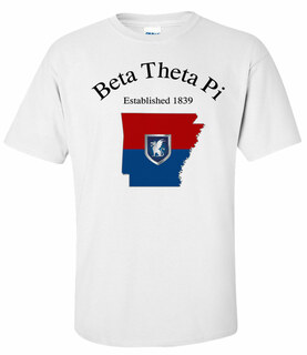 Beta Theta Pi State Flag T-shirt