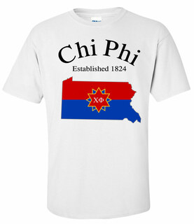 Chi Phi State Flag T-shirt