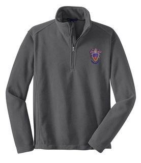 Delta Sigma Pi Emblem 1/4 Zip Pullover