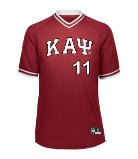 Kappa Alpha Psi Retro V-Neck Baseball Jersey