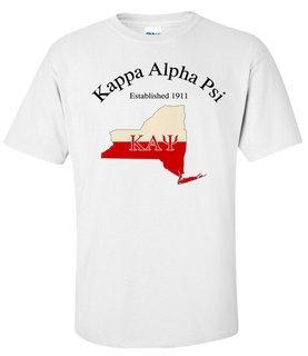 Kappa Alpha Psi State Flag T-shirt