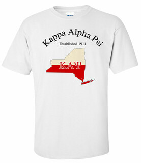 Kappa Alpha Psi State Flag T-shirt