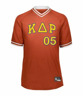 Kappa Delta Rho Retro V-Neck Baseball Jersey