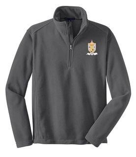 Lambda Theta Phi Emblem 1/4 Zip Pullover