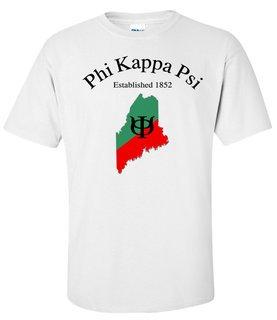 Phi Kappa Psi State Flag T-shirt