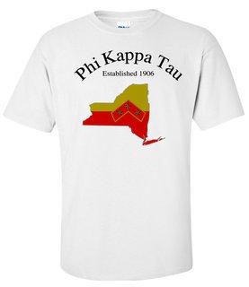 Phi Kappa Tau State Flag T-shirt