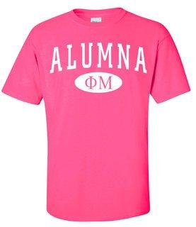 Phi Mu Alumna Tee-Shirt