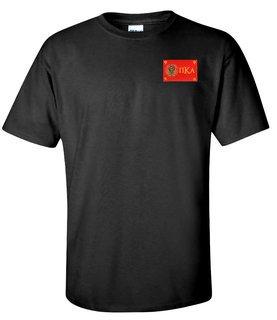 CLOSEOUT - Pi Kappa Alpha Flag Patch T-Shirt