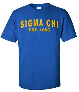 Sigma Chi Since Shirts