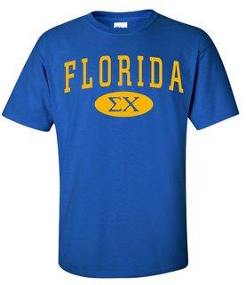 Sigma Chi State Shirts