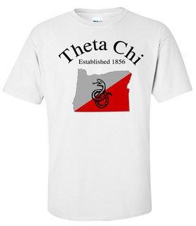 Theta Chi State Flag T-shirt
