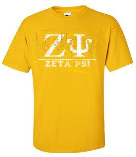 Zeta Psi Vintage Greek Line Tee