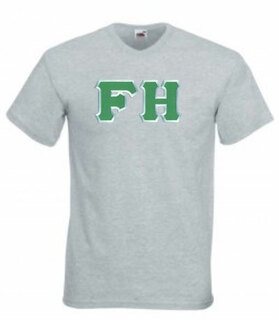 DISCOUNT- FarmHouse Fraternity Lettered V-Neck Tee