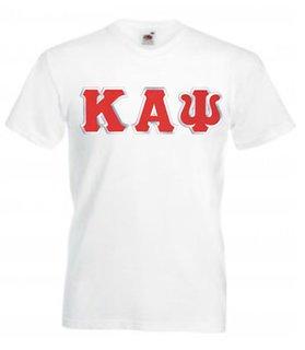 DISCOUNT- Kappa Alpha Psi Lettered V-Neck T-Shirt