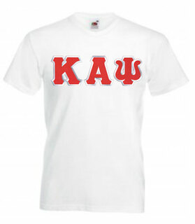 DISCOUNT- Kappa Alpha Psi Lettered V-Neck T-Shirt